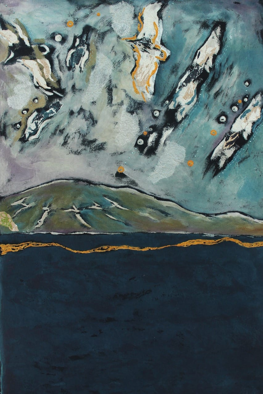 Nicola Henry Spirit of the skies 10b. Passing Gulls, Cill Rialaig II (detail)