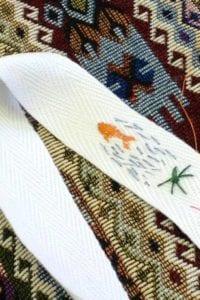 Stitchathon White Ribbon