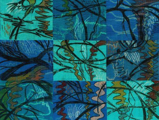 Judy-Hooworth-2. Creek Drawing 4 detail