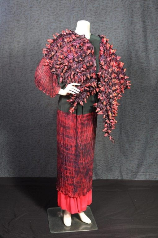Barbara-Schey-Red-and-Black-Wrap