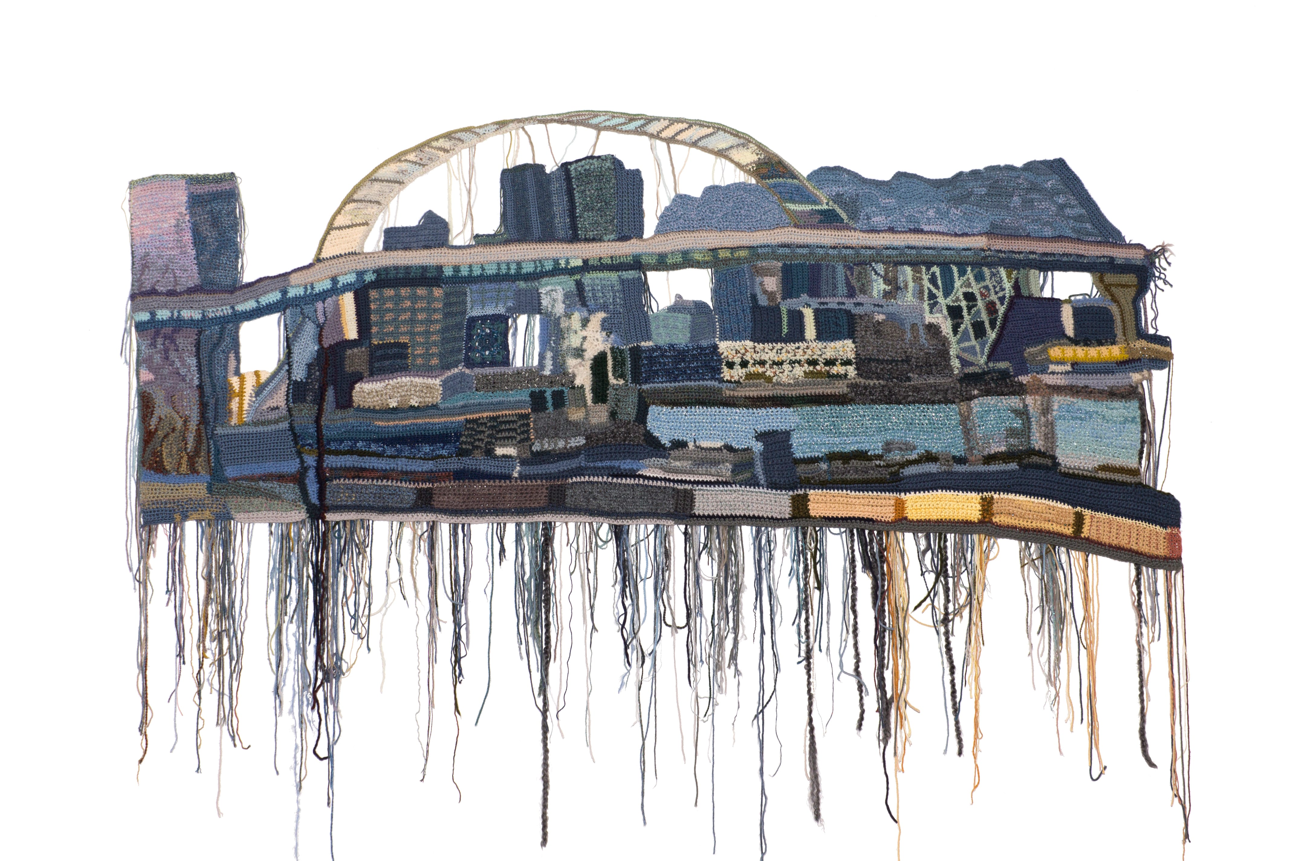 EitherSideof theFremont_31x70 inches_2016