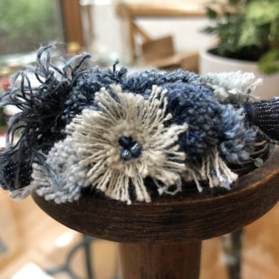 Blue Mood – brooch