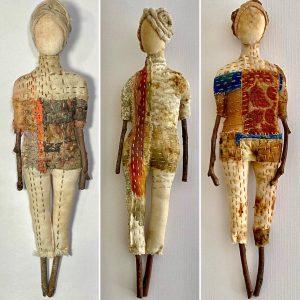 Wilma Simmons Stick Dolls